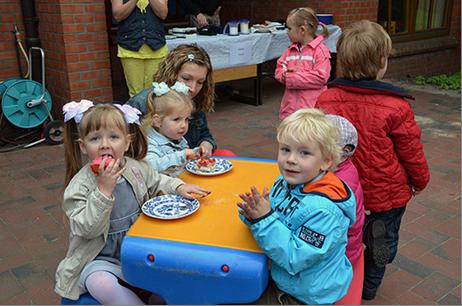 Kindergarten Unterm Regenbogen feierte Geburtstag