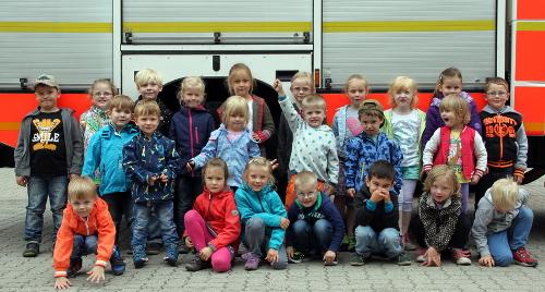 Löwenzahngruppe besucht Feuer- und Rettungswache in Harburg – Kinder nehmen viele Eindrücke mit