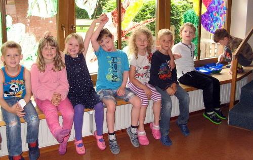 Kita Unter'm Regenbogen führt Übergangsprojekt zur Grundschule durch